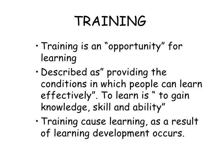 Types Of Trainig1 Slide 3