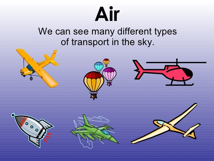 Essay different types of transport