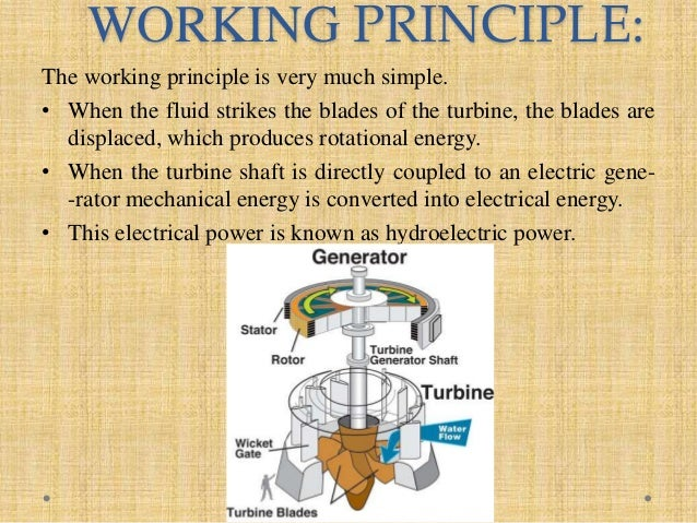 Types of turbine & thier application