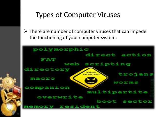 computer virus design in 2018 essential malware components