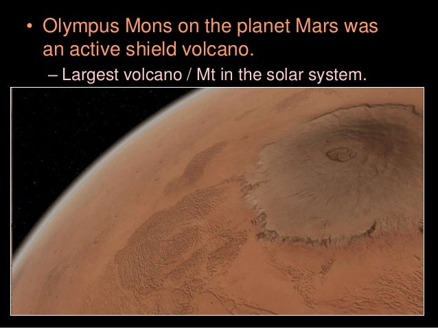biggest volcano in our solar system - photo #38