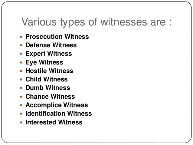 what does hostile witness mean
