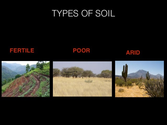 Types soil 4 for Types of soil and uses