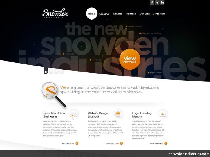snowdenindustries.com