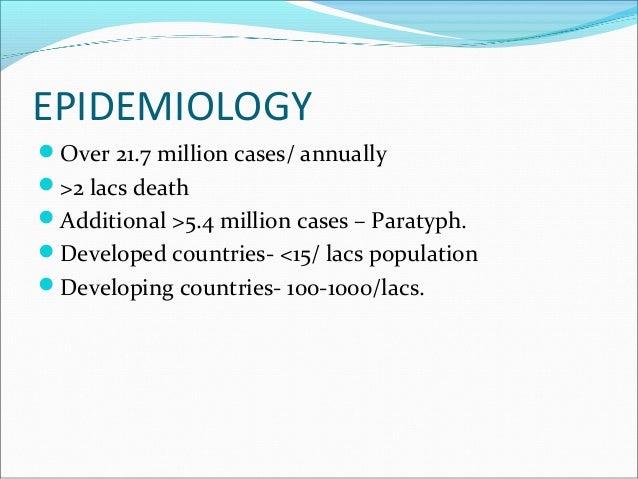 Typhoid fever  Slide 3