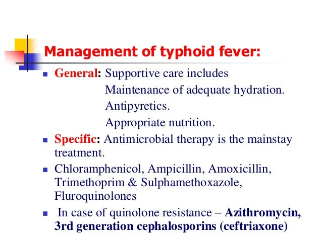 Chloramphenicol Dosage For Typhoid
