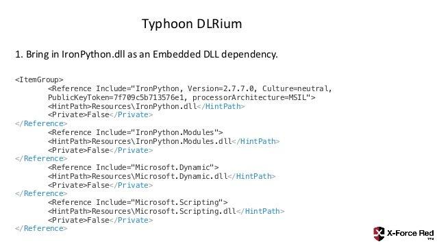 Typhoon Managed Execution Toolkit