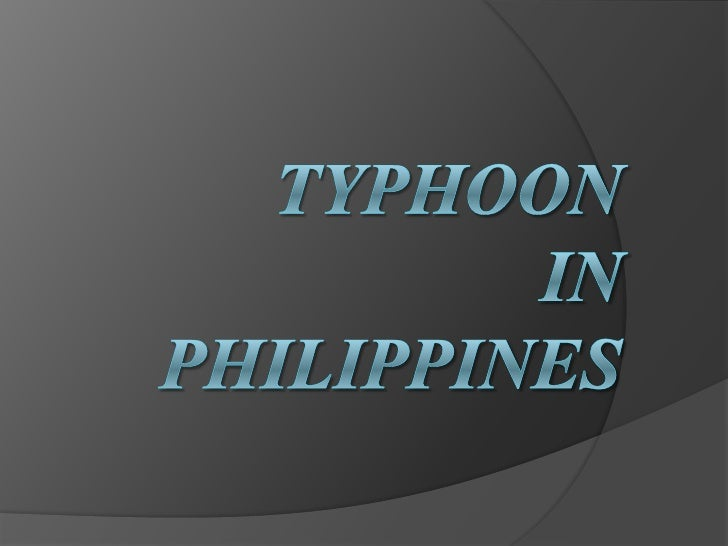 What are typhoons ? A typhoon is a mature tropical cyclone that  develops in the northwestern part of the Pacific  Ocean ...