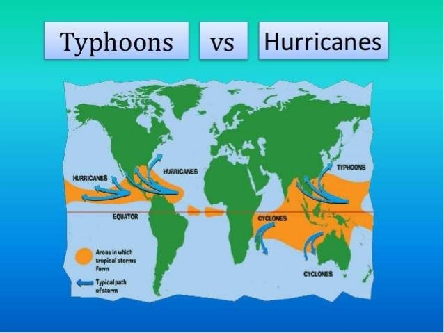 What is the difference between a hurricane and a typhoon ...