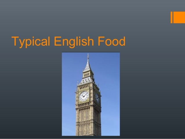 Typical English Food