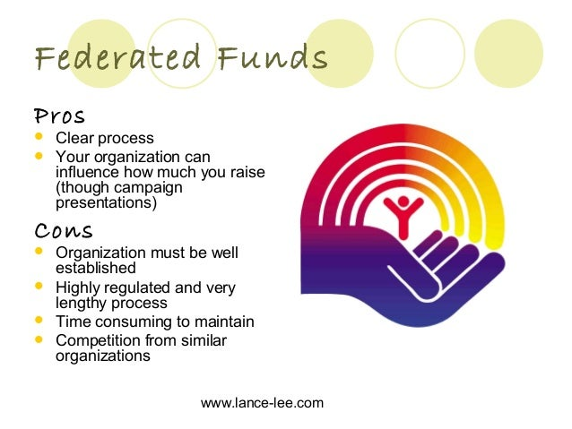 Funding Sources for Non Profit Organizations, and the Pros and Cons o…