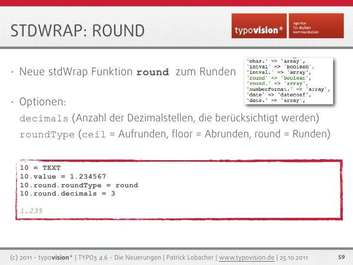 TYPO3 4.6 - Die Neuerungen (typovision*)