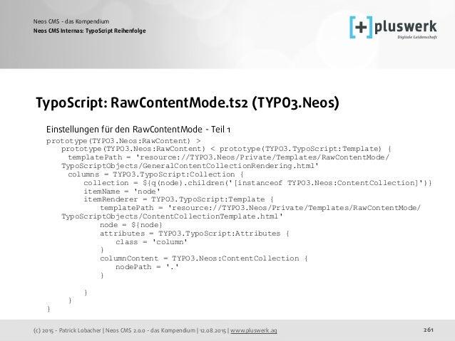 Neos CMS - das Kompendium (Version 2.0.0)