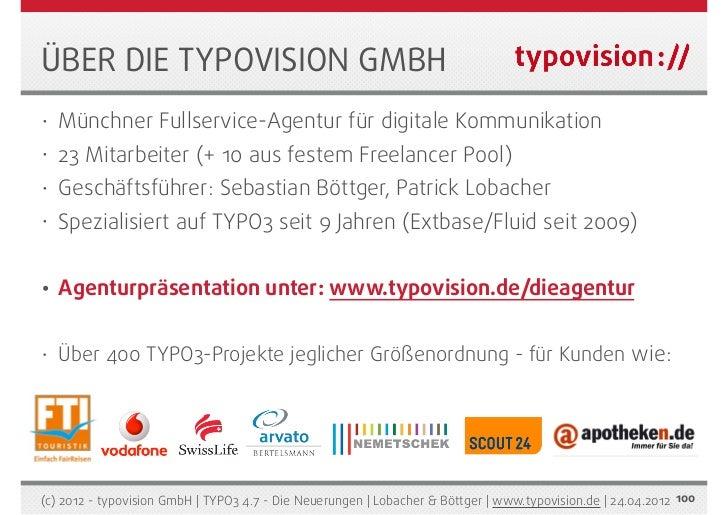 Typo3 4 7 die neuerungen typovision gnbh for Freelancer agentur munchen
