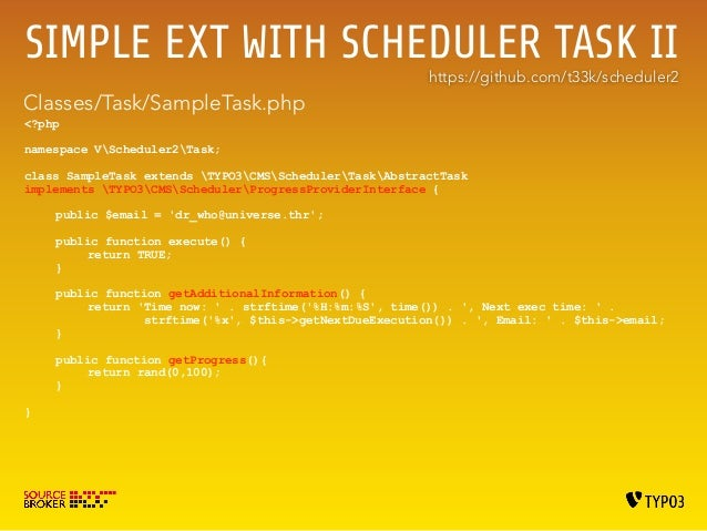 CLI Command Line Interface  php typo3/cli_dispatch.phpsh