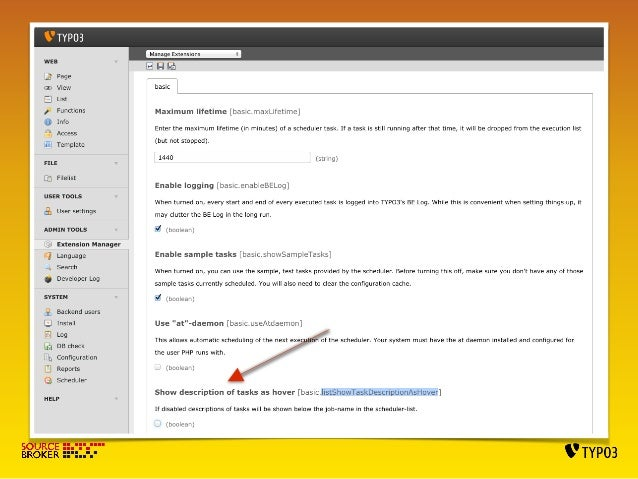 SETTING SCHEDULER MAIN CRONJOB  EDIT USERS CRONTABS.  When logged to ssh console as www-data user:  crontab -e  */15 * * *...