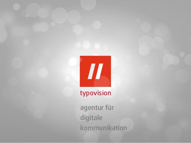 typovisionagentur fürdigitalekommunikation
