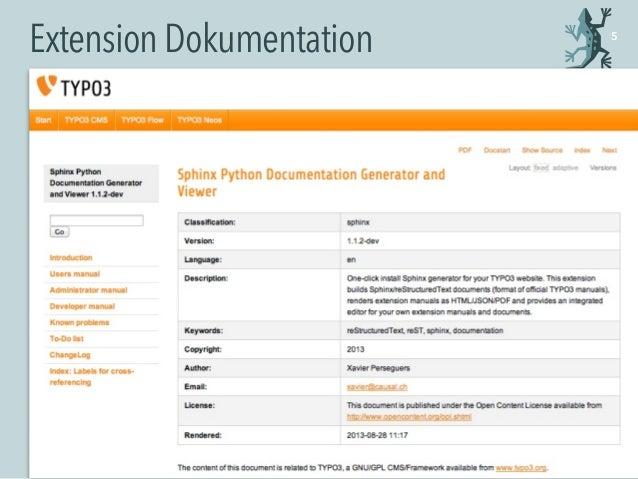 ExtensionDokumentation 5