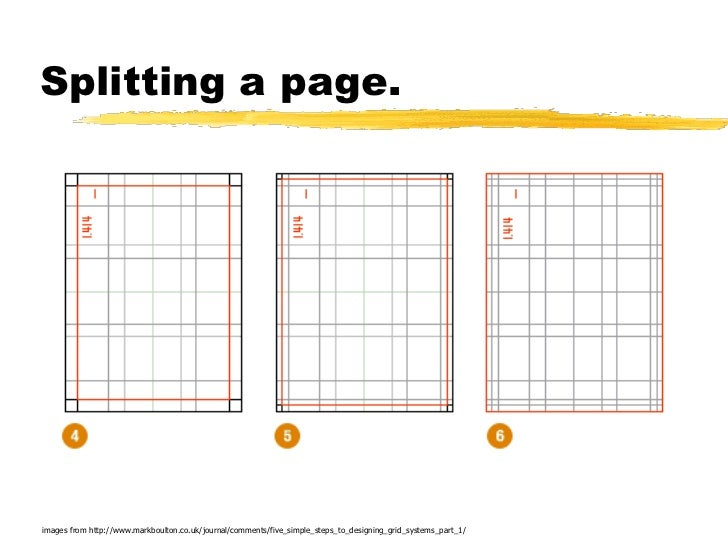 Splitting a page.images from http://www.markboulton.co.uk/journal/comments/five_simple_steps_to_designing_grid_systems_par...