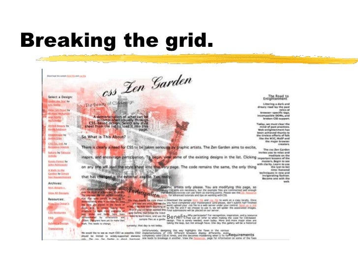 Typography and grids