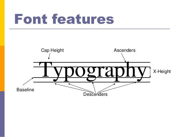 Typographic basics Slide 2