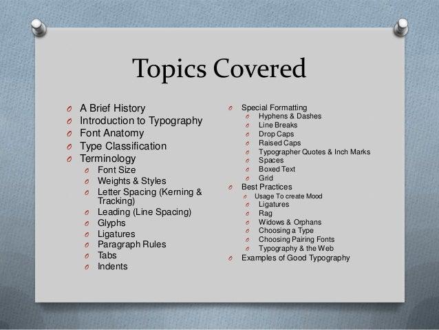 Typography Slide 2