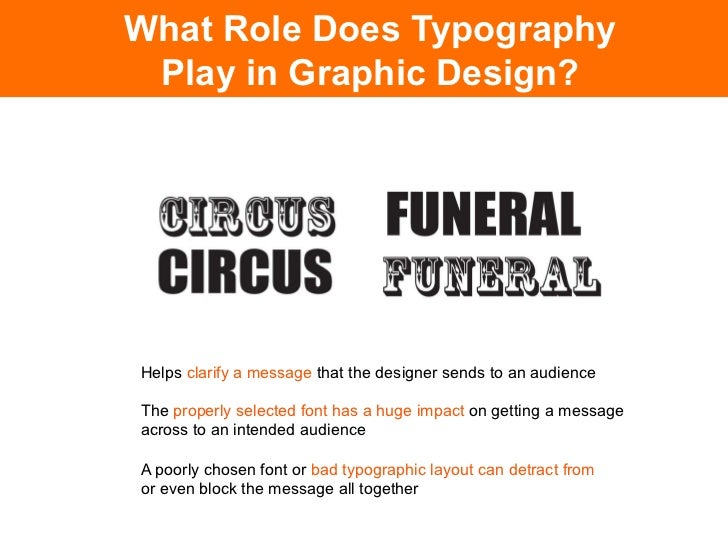 What Role Does Typography  Play in Graphic Design?Poor typography will prevent a reader from connecting with a design,and ...