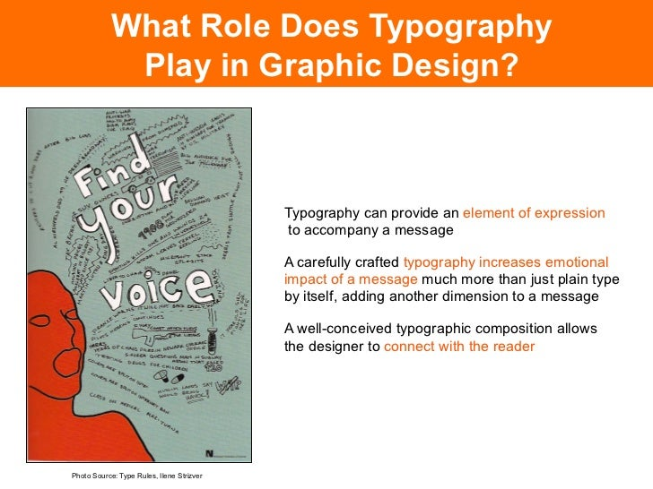 What Role Does Typography                    Play in Graphic Design?                                                      ...