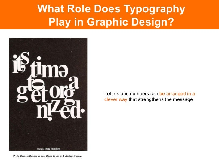 What Role Does Typography             Play in Graphic Design?                                                  Of course, ...