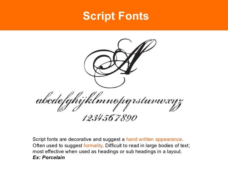 Decorative and NoveltyGeneral term used to describe fonts that can't be easily categorized.This includes dingbats and cont...