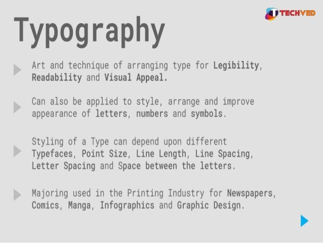 Typography in Design