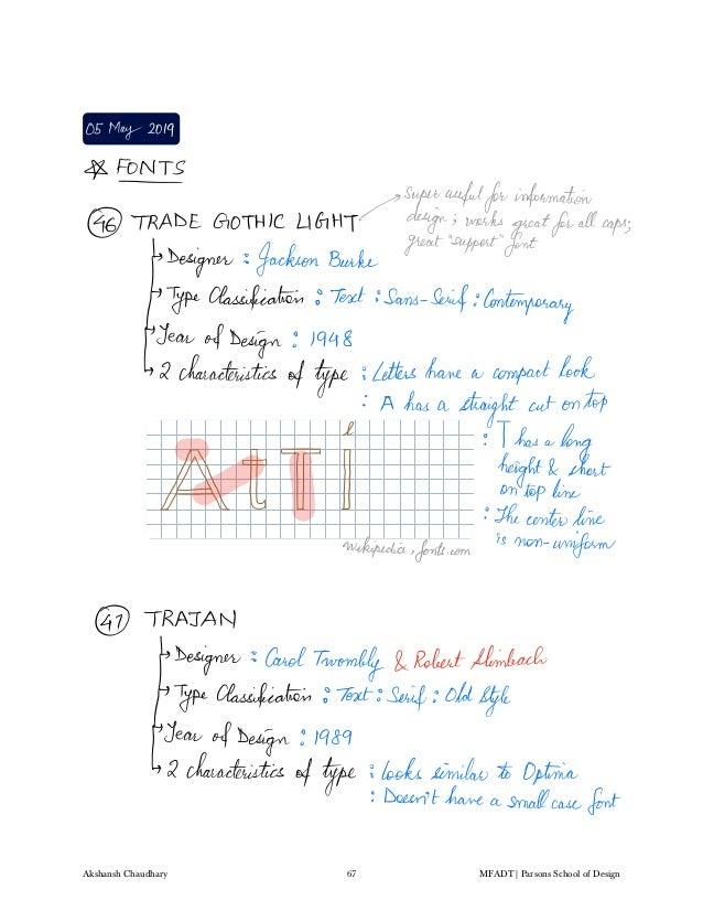 Typography and Visual Design Notes - Akshansh
