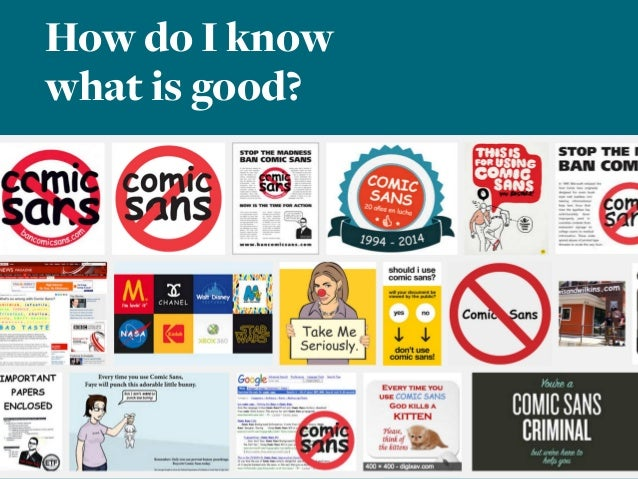 How do I know what is good?