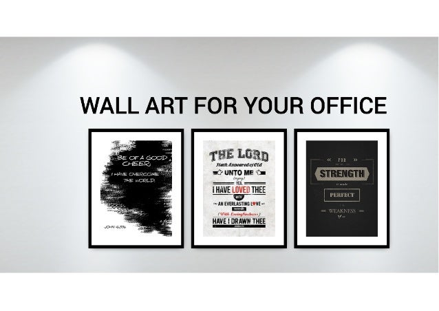 Inspirational wall art for your home or office for Wall paintings for office