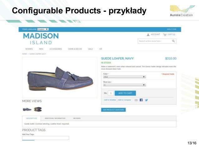 Configurable Products - przykłady 13/16