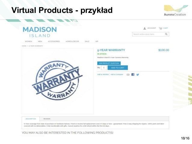 Virtual Products - przykład 18/16