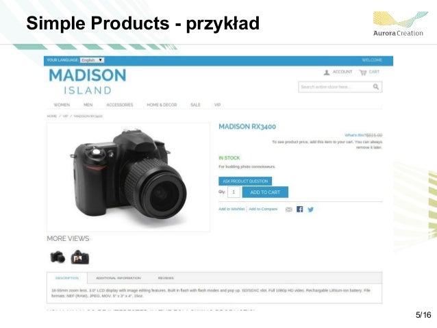 Simple Products - przykład 5/16