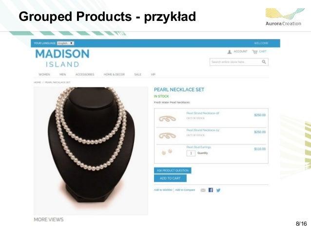 Grouped Products - przykład 8/16