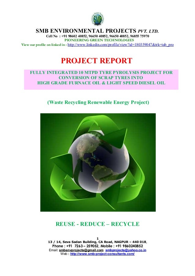 SMB ENVIRONMENTAL PROJECTS PVT. LTD. Cell No : +91 98602 40852, 96650 40852, 96650 40852, 96855 75970 PIONEERING GREEN TEC...