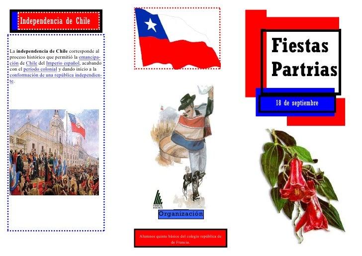 Independencia de ChileLa independencia de Chile corresponde alproceso histórico que permitió la emancipa-                 ...