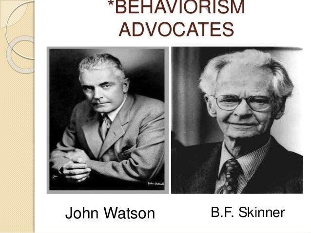 watson and skinner