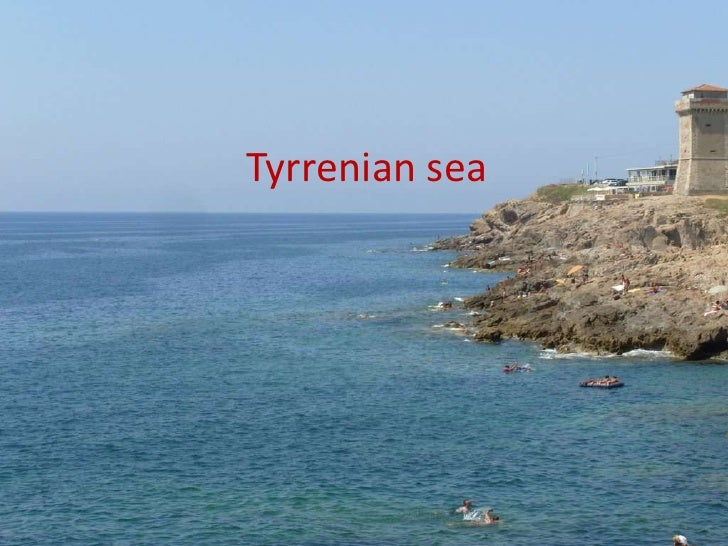 Tyrrenian sea