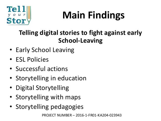digital story telling literature review Create a digital storytelling assignment  digital storytelling combines video, images, music, and spoken word to tell a story in a short video.