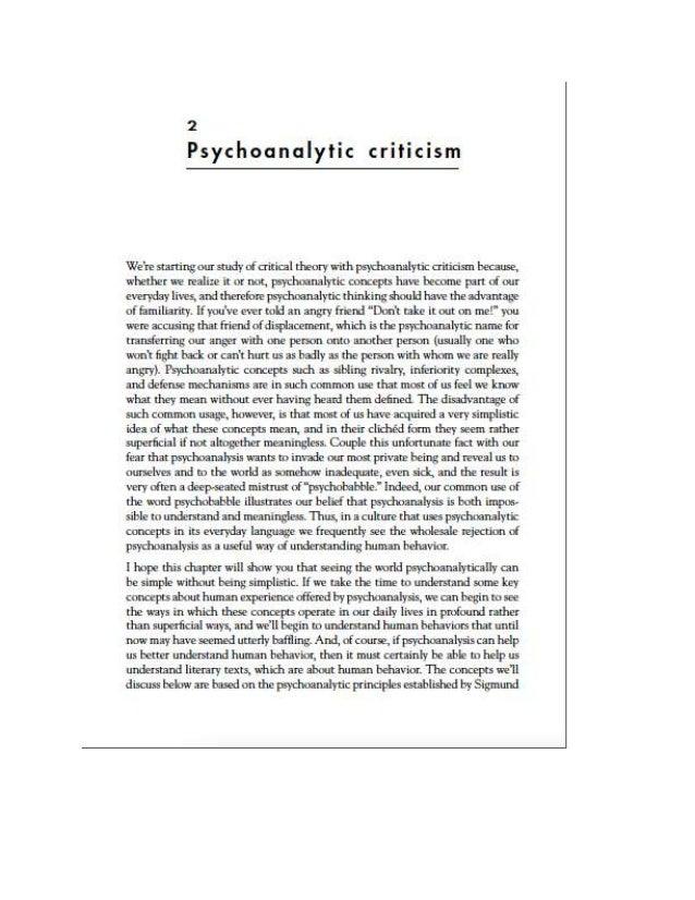 Tyson psychoanalytical intro