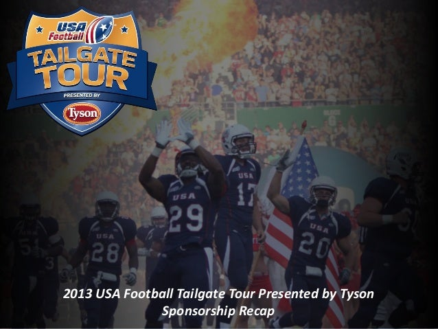 Heads Up Football 2013 USA Football Tailgate Tour Presented by Tyson Sponsorship Recap