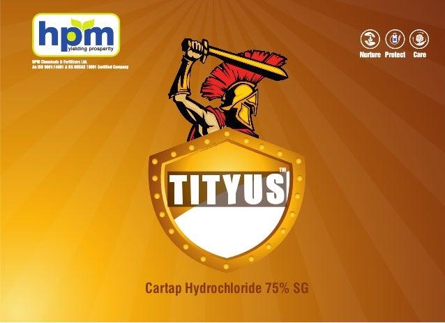 Cartap Hydrochloride 75% SG