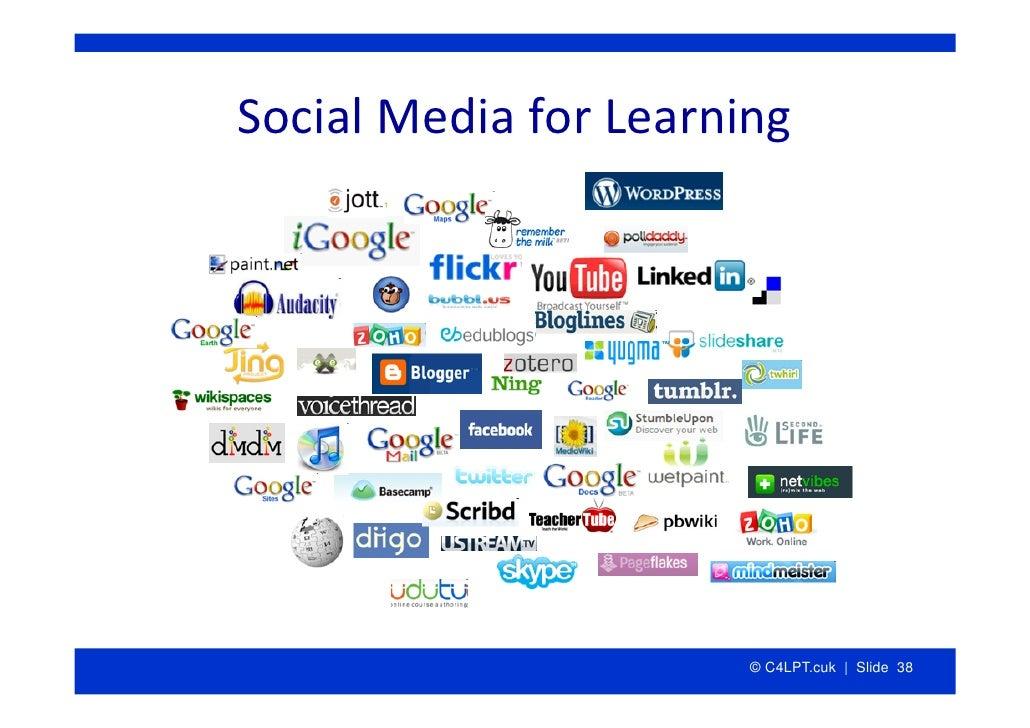 SocialMediaforLearning                            © C4LPT.cuk | Slide 38