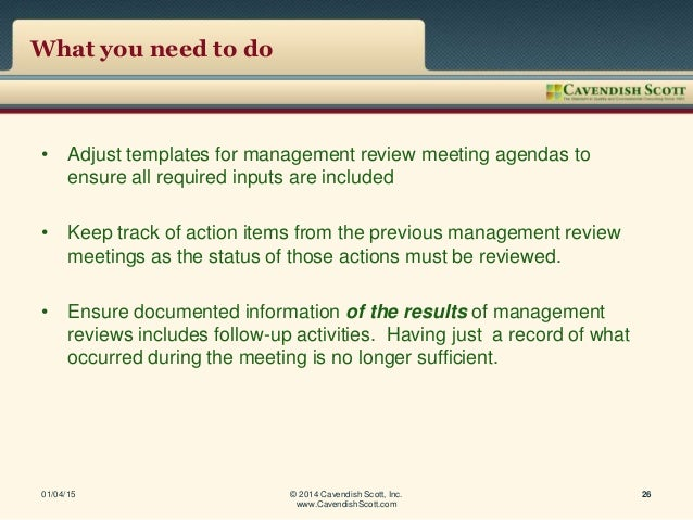 9001 management review meeting presentation format, Presentation templates