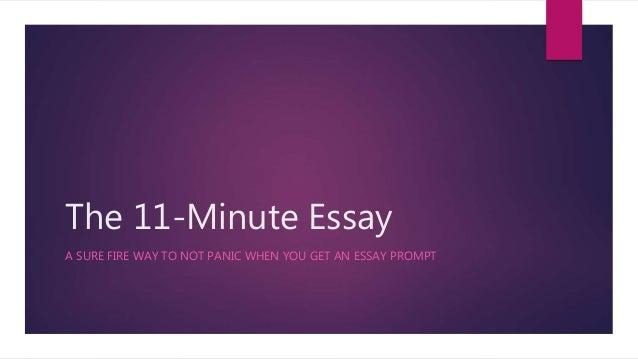 One minuet essay