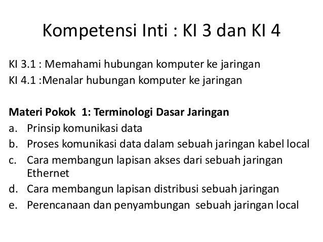 Modul SMK TKJ K2013   c3.5.xi-rancang bangun jaringan 1-terminologi dasar jaringan Slide 2